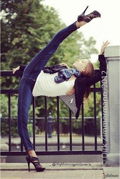 гимнастки в джинсах фото