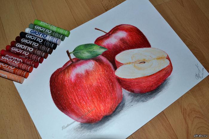 Рисуем пастелью для детей