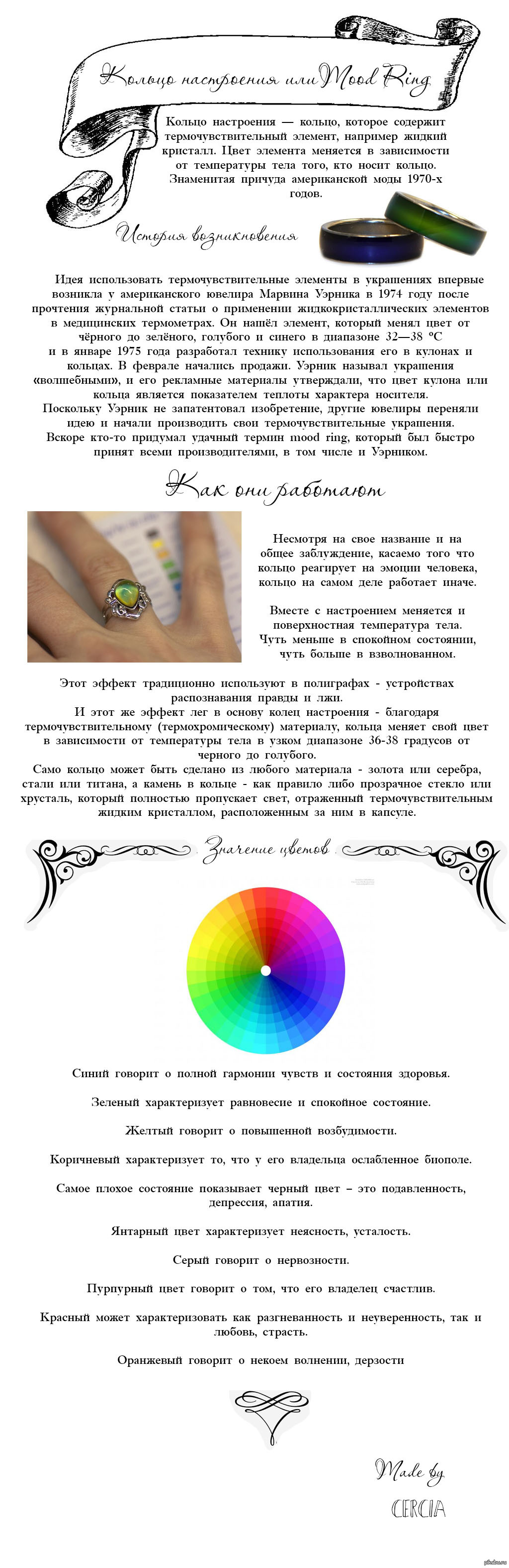 кольцо хамелеон